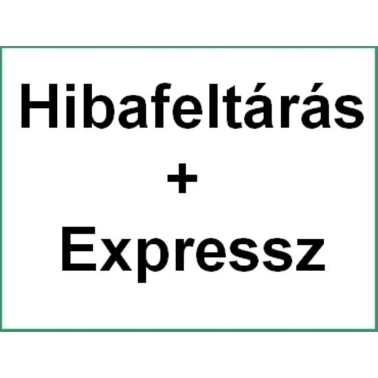 02. Expressz díj kisgép javításra 2-5 munkanap, garanciaidőn túli meghibásodás esetén