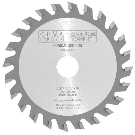 CMT Ipari kónuszos elővágó 125x20 Z24