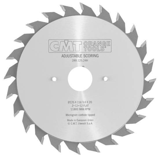 CMT Ipari állítható elővágó 100x20 Z10+10