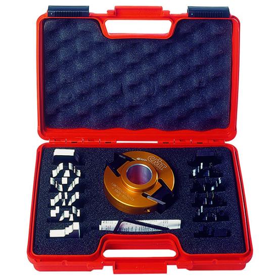 CMT 7 db-os cserelapkás marókészlet fogásmélység határolóval