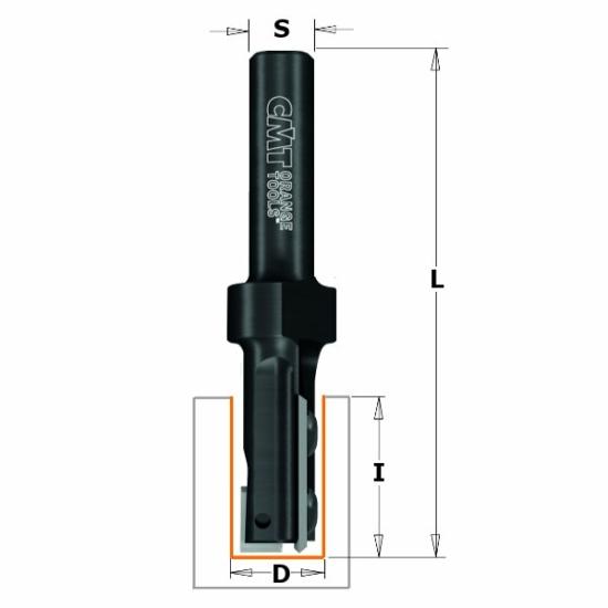 CMT Egyenes nútmaró cserélhető késekkel
