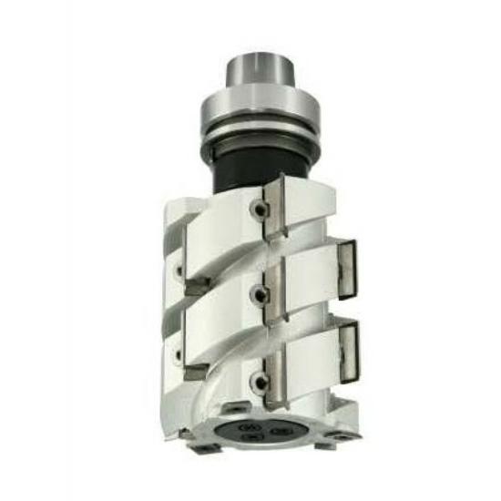 OMAS CNC 625-E él és falcmaró szerszám 100x115x30 HSK63 RH