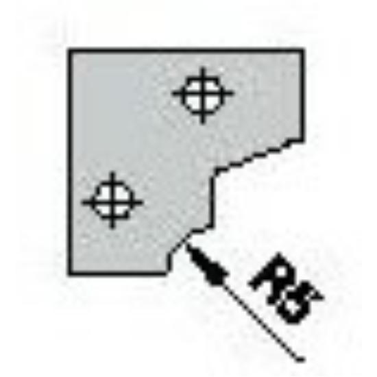 OMAS CNC profillapka 481-26 R=5