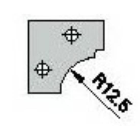 Omas CNC profillapka 481-26-R12,5