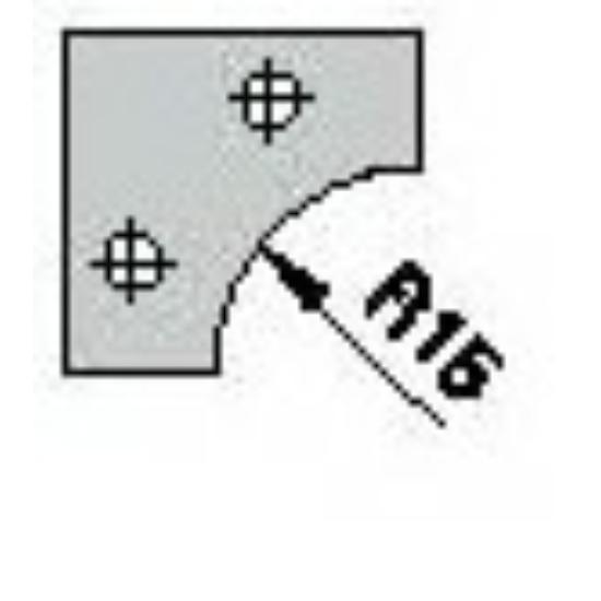 Omas CNC profillapka 481-26-R15