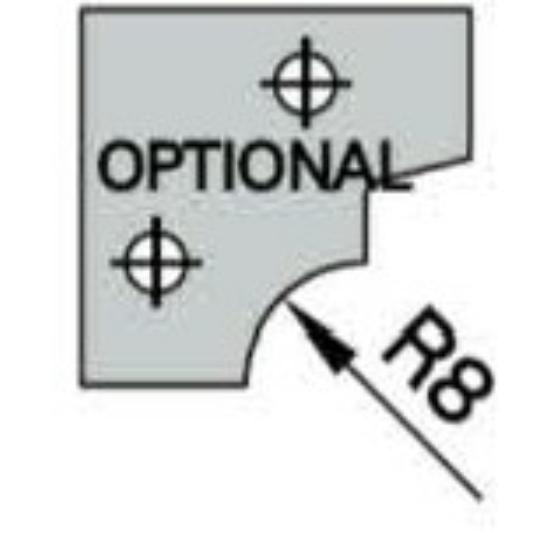 Omas CNC profillapka 481-26-R8