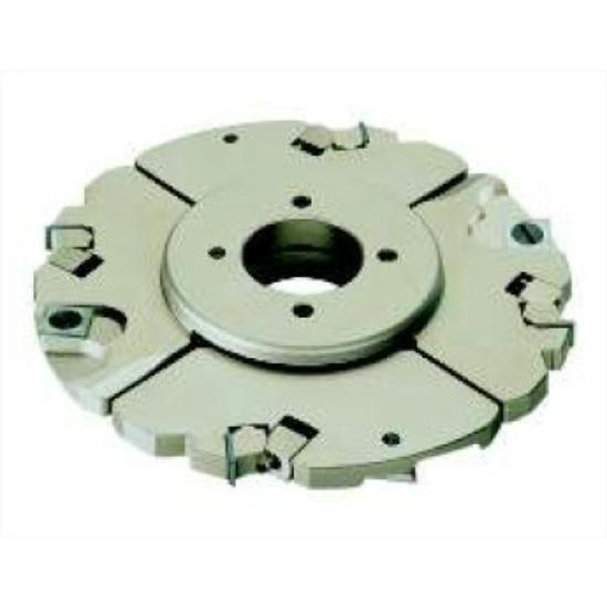 OMAS Cserélhető lapkás állítható nútmaró szerszám K408-B D=160