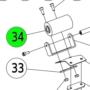 Kép 2/3 - Virutex gumi görgő EB 35, 30, 25 gépekhez