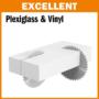 Kép 3/4 - CMT ipari körfűrészlap műanyagokhoz és bútorlaphoz D=250/300x30