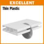 Kép 4/4 - CMT ipari körfűrészlap műanyagokhoz és bútorlaphoz D=250/300x30