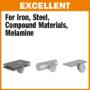 Kép 2/4 - CMT Ipari száraz vágó körfűrészlap acélhoz 160x20 Z30