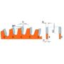 Kép 2/6 - CMT Ipari ITK PLUS Kompozit és színesfém vágó fűrésztárcsa 216x30 Z64