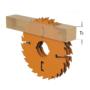 Kép 4/4 - CMT ipari, vastagtengelyes hosszvágó fűrésztárcsa