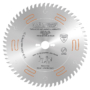 Kép 1/7 - CMT krómozott, ipari fűrésztárcsa, holkeres fűrészfogakkal D=250/303