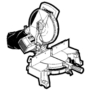 Kép 4/5 - CMT Ipari, precíz, keresztvágó körfűrész hordozható gépekhez 235x30 Z48
