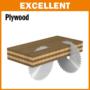 Kép 3/7 - CMT Ipari körfűrésztárcsa kétoldalas melamin bútorlaphoz, finom vágásokhoz D=250-350