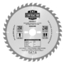Kép 1/2 - CMT Körfűrész mestercsomag hossz- és keresztvágó tárcsákkal - 3 db 190x30 Z24