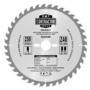 Kép 1/2 - CMT Körfűrész mestercsomag hossz- és keresztvágó tárcsákkal - 2 db 250x30 Z24/Z40