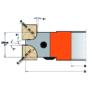 Kép 2/4 - CMT Ipari gömbölyítő szerszámok, R5/10 (3/6, 4/8)