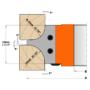 Kép 2/4 - CMT Ipari gömbölyítő szerszámok R15/20 (12/18)