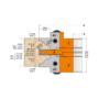 Kép 2/12 - CMT Kontraprofilos beltériajtó gyártó szerszám