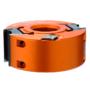 Kép 1/3 - CMT ipari marófej keményfém lapkával falcoláshoz vagy a 40 mm-es profilos késekhez