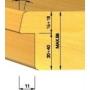 Kép 3/4 - OMAS CNC szárny  külső falcmaró 623-06 R1,5 HSK-63F RH