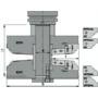 Kép 2/4 - OMAS CNC betétmaró 627-AC 152X110 HSK-63F RH