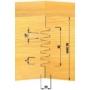 Kép 3/4 - OMAS CNC szegmenstoldó szerszám 628-A 110X80X30 HSK-63F RH