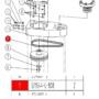 Kép 2/2 - Ékszíj Reignmac RMM523UE gépek univerzális tengelyéhez SPZ 808